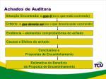 achados de auditora