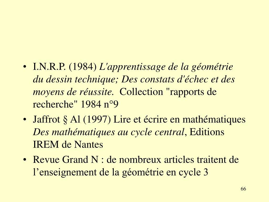 I.N.R.P. (1984)