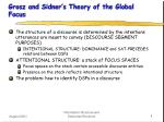 grosz and sidner s theory of the global focus