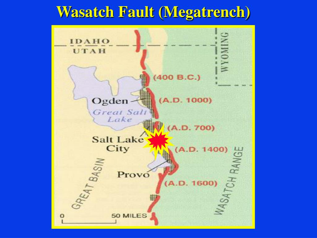 Wasatch Fault (Megatrench)
