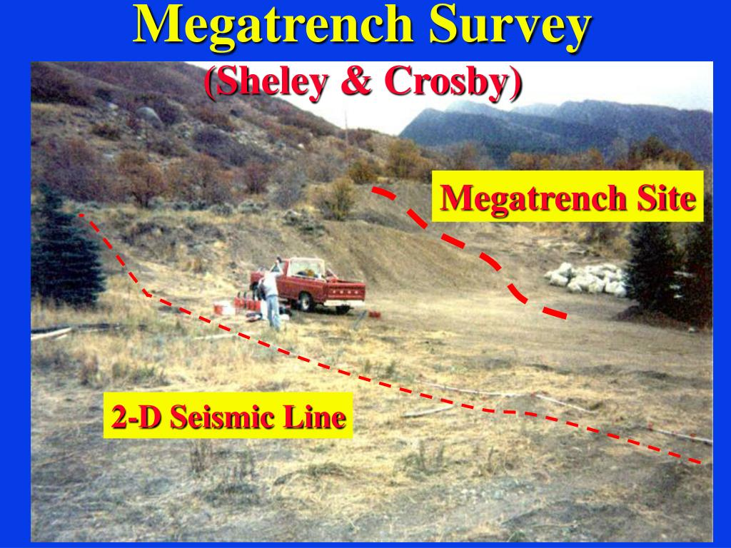 Megatrench Survey