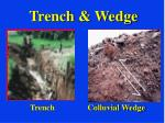 trench wedge