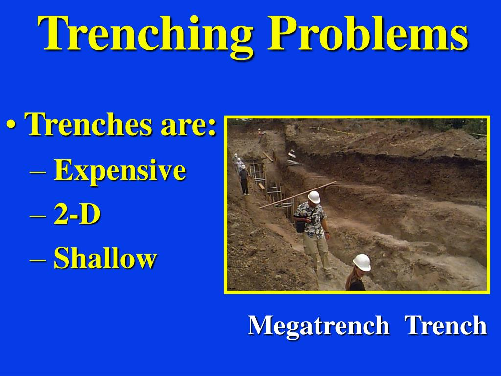 Trenching Problems