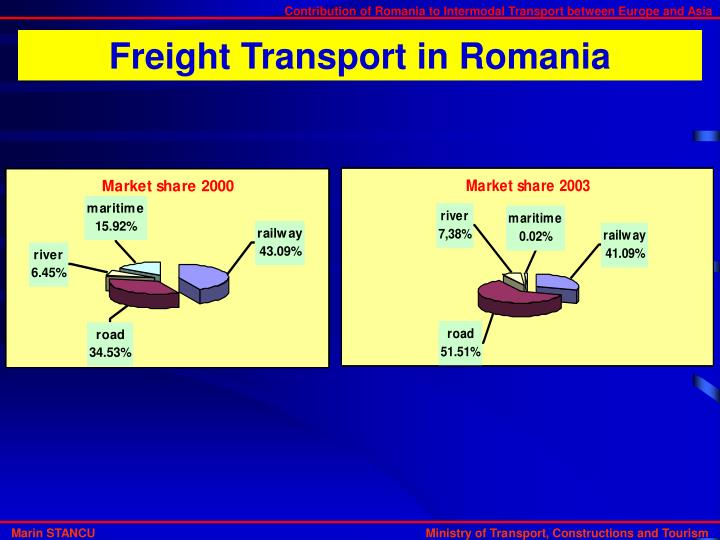Freight Transport in Romania