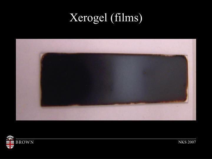 Xerogel (films)