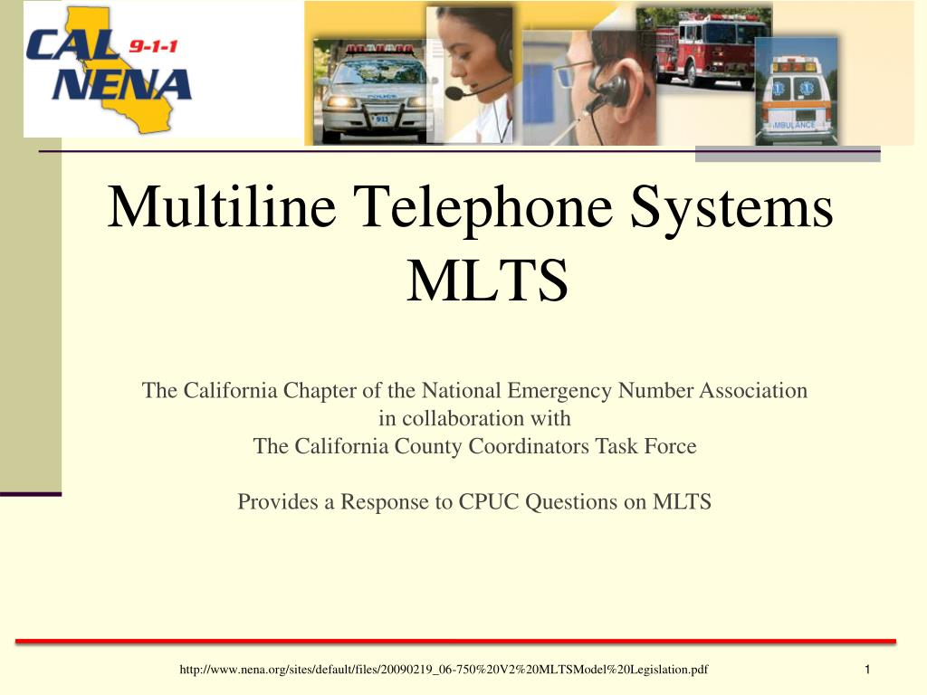 Multiline Telephone Systems MLTS