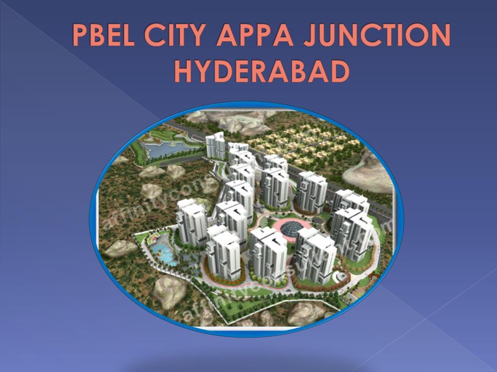 pbel city appa junction hyderabad