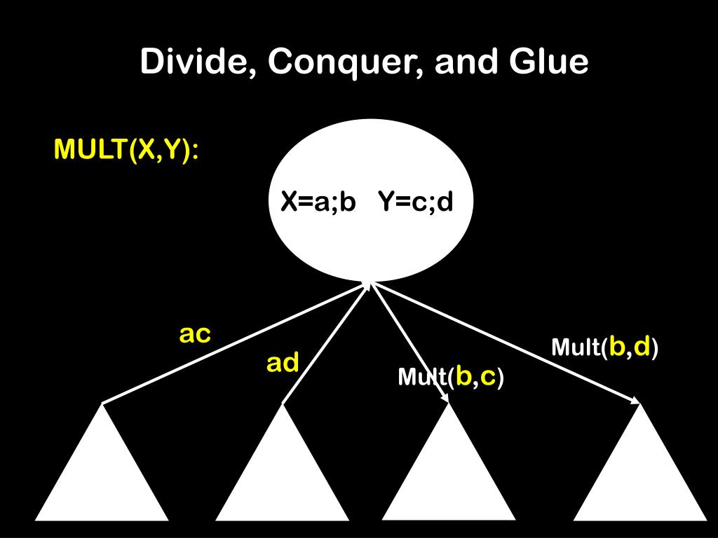 Divide, Conquer, and Glue