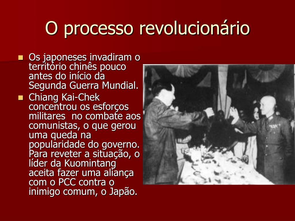 O processo revolucionário