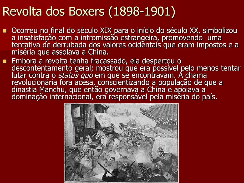 Revolta dos Boxers (1898-1901)