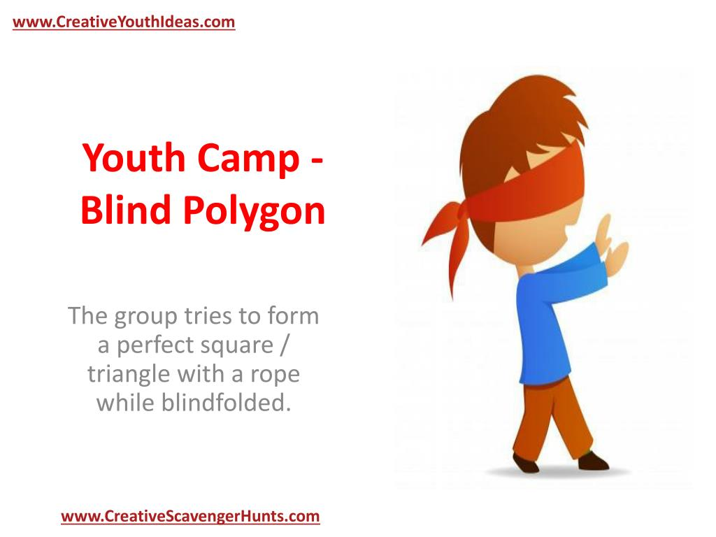 youth camp blind polygon