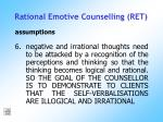 rational emotive counselling ret171
