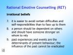 rational emotive counselling ret176