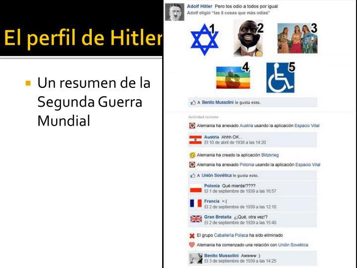 El perfil de Hitler