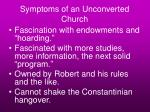 symptoms of an unconverted church46