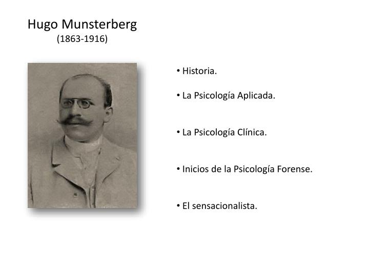 Hugo Munsterberg