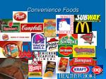 convenience foods58