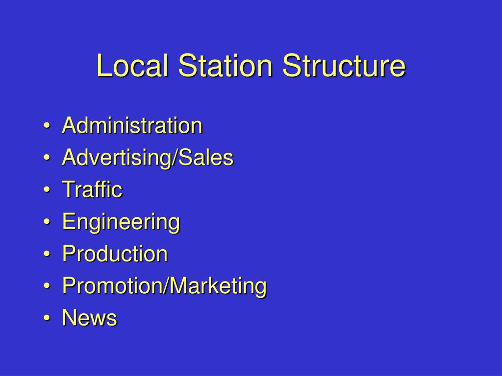 Local Station Structure