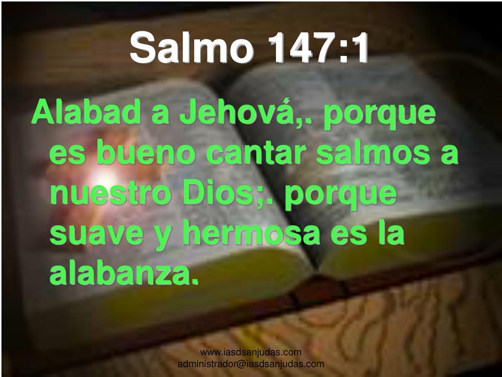 Salmo 147:1