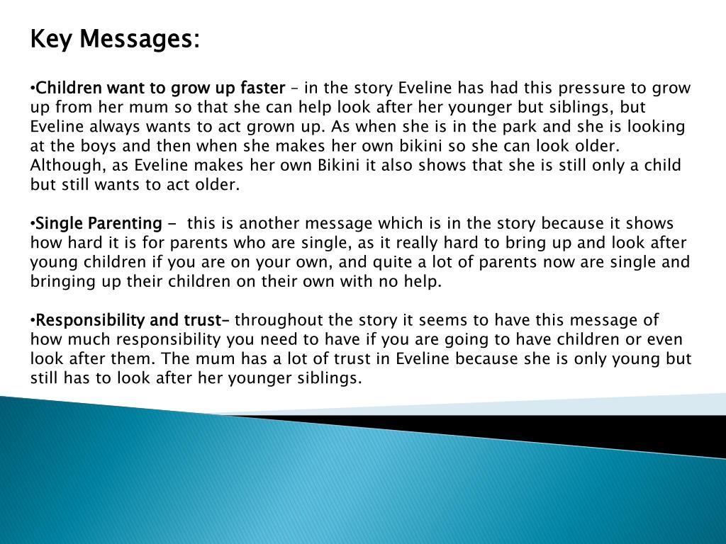 Key Messages: