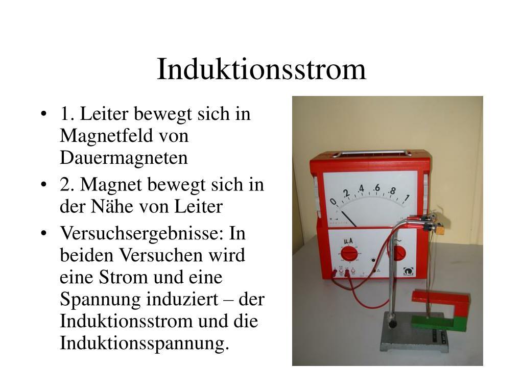 Induktionsstrom