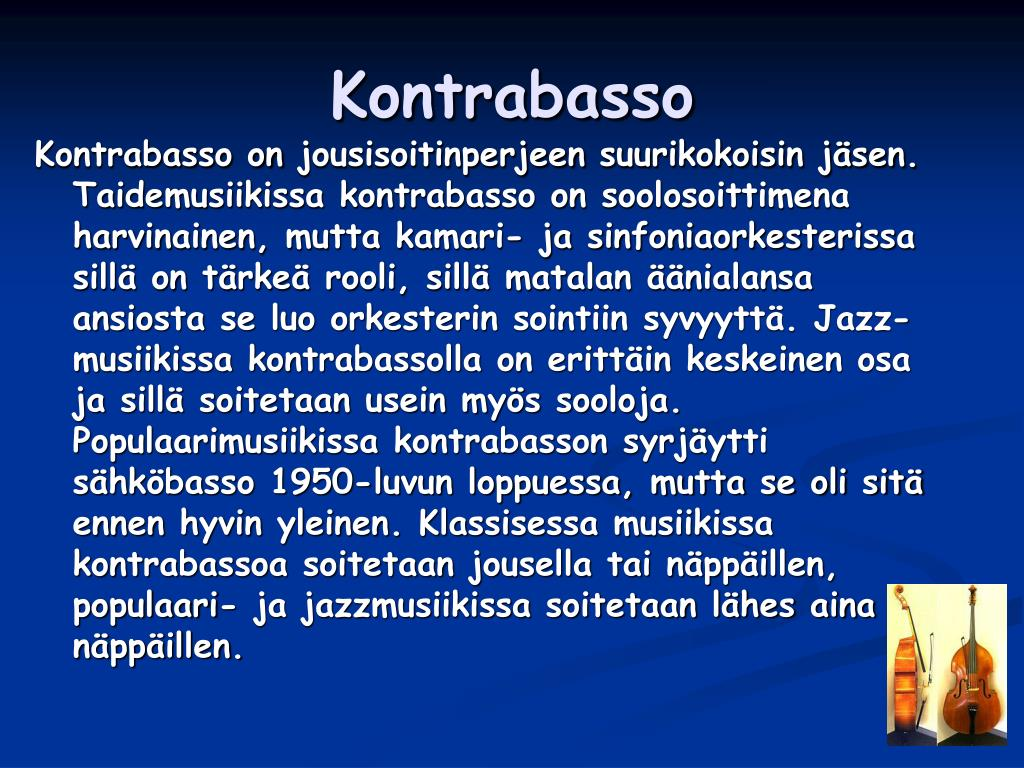 Kontrabasso