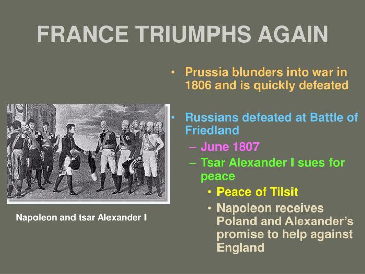 FRANCE TRIUMPHS AGAIN