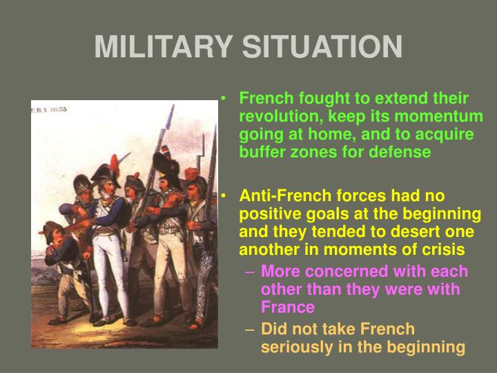 MILITARY SITUATION