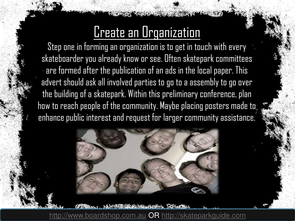 Create an Organization
