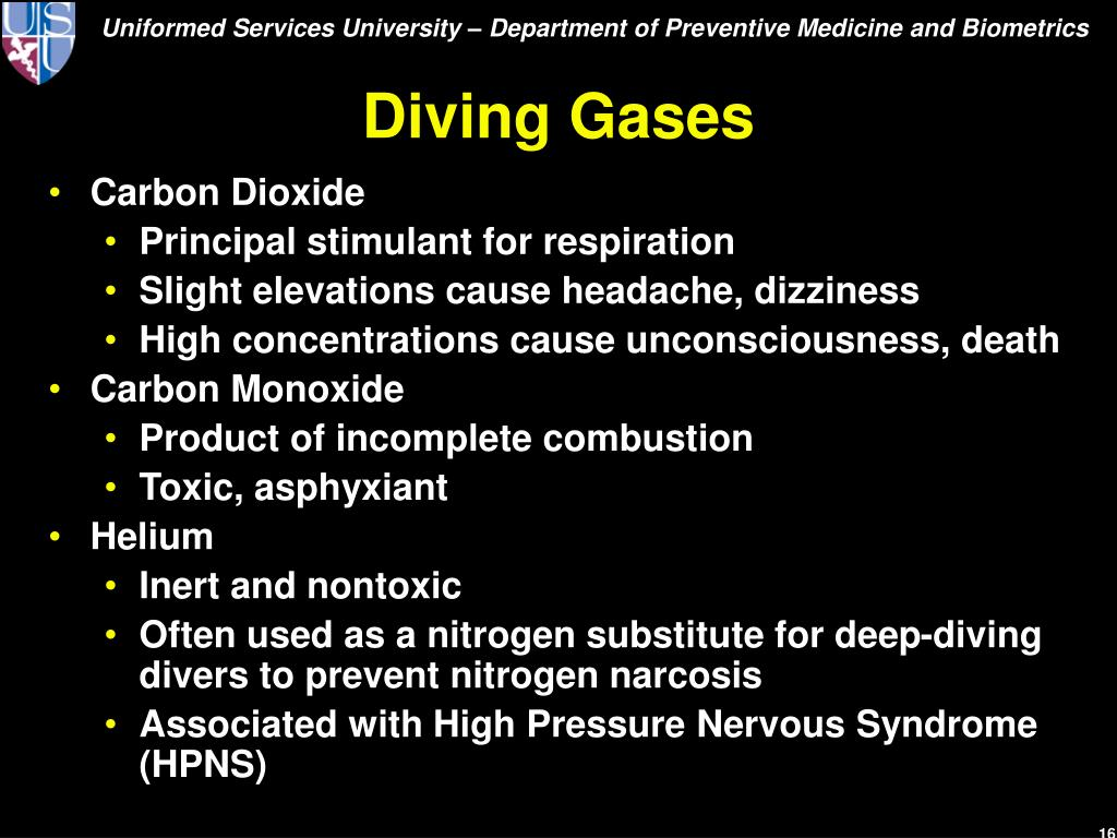 Diving Gases