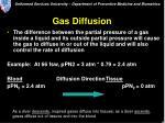 gas diffusion