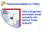 recommendation 4 chill