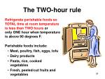 the two hour rule