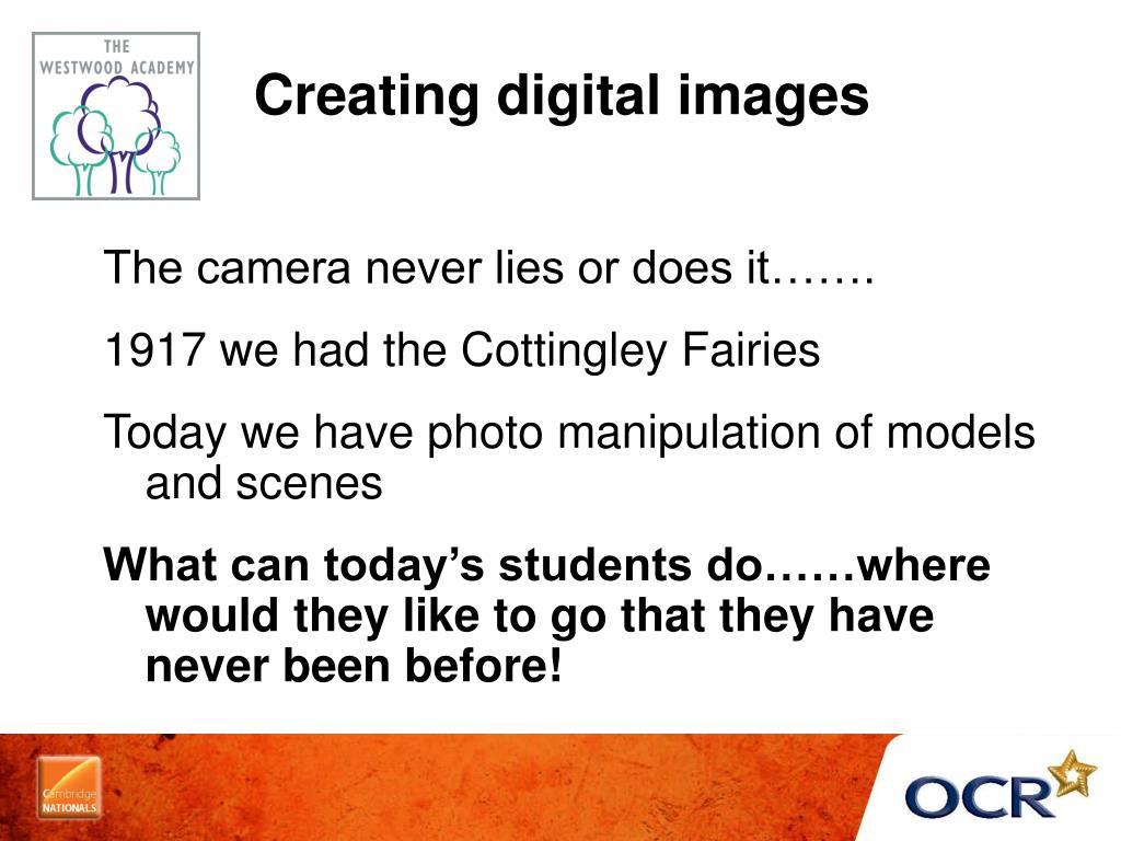 Creating digital images