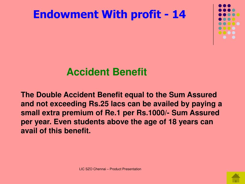 Accident Benefit