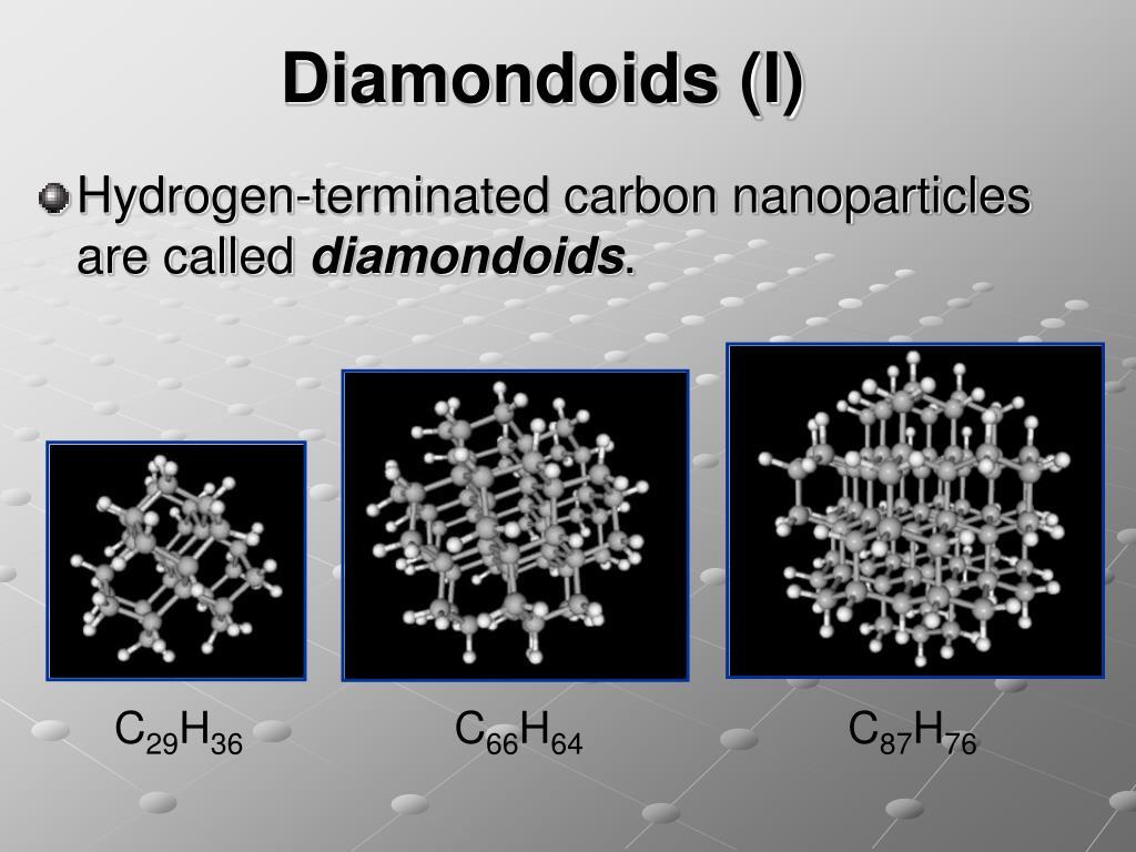 Diamondoids (I)