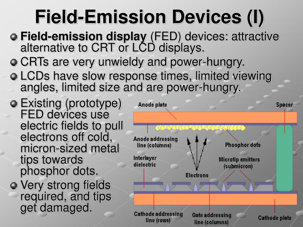 Field-Emission Devices (I)