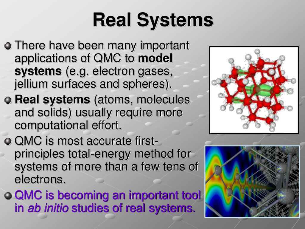 Real Systems