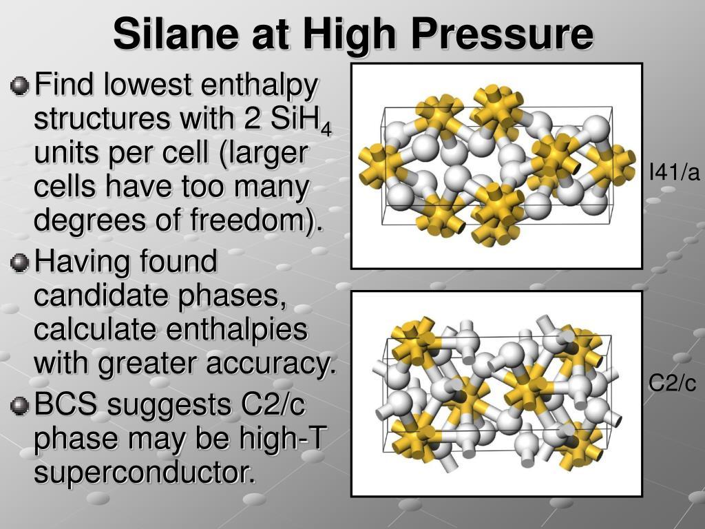 Silane at High Pressure