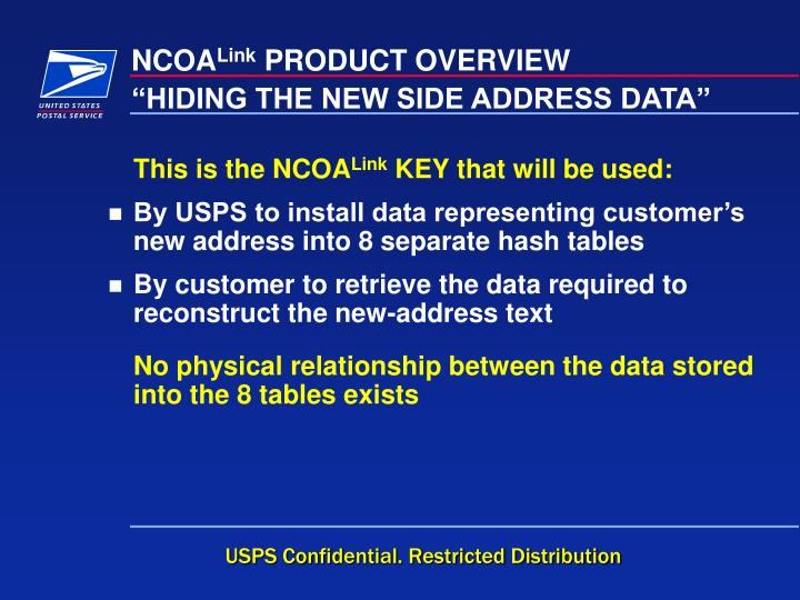 """HIDING THE NEW SIDE ADDRESS DATA"""