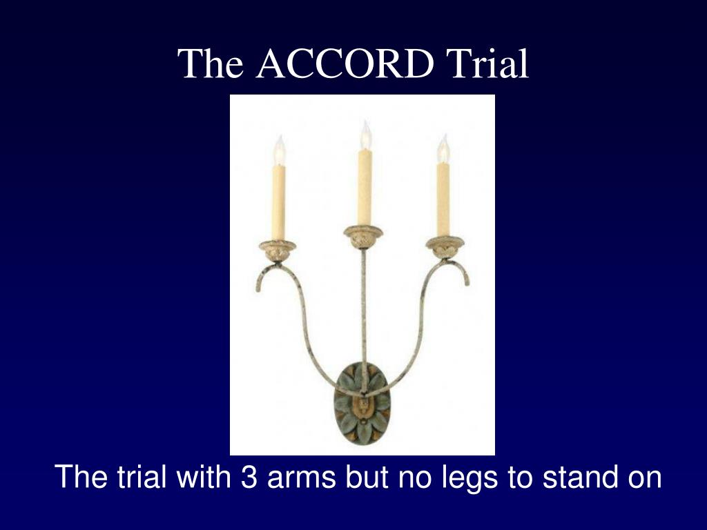 The ACCORD Trial