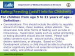 eating feeding add l info for children46
