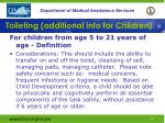 toileting additional info for children40