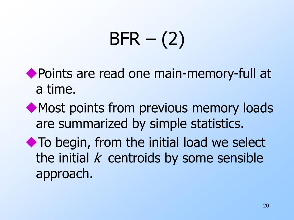 BFR – (2)