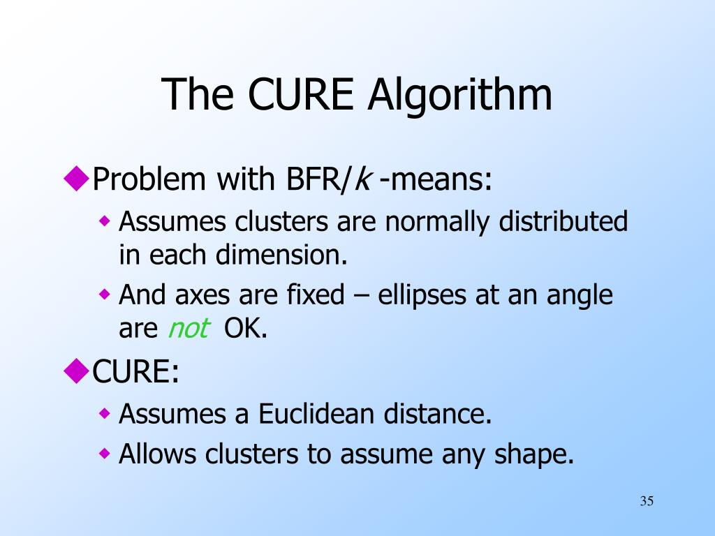 The CURE Algorithm