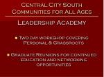 central city south communities for all ages10