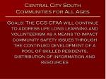 central city south communities for all ages48