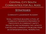 central city south communities for all ages9