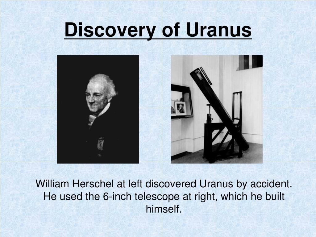 Discovery of Uranus