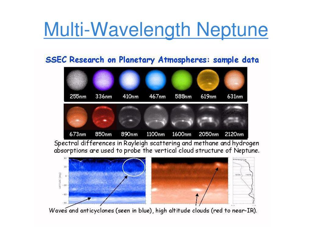 Multi-Wavelength Neptune